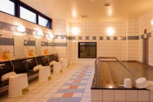 ホテル大浴場に地下水を使用